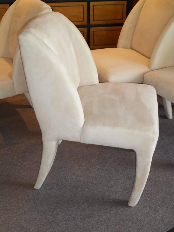 1980s Vladimir Kagan Dining Chairs for Directional 8