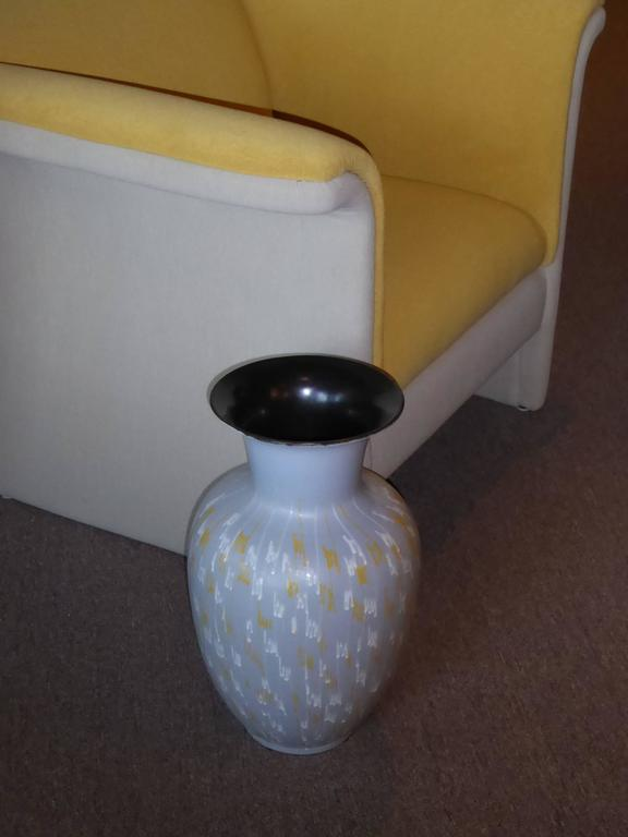 Large Carstens 1956 Pottery Floor Vase Germany For Sale At