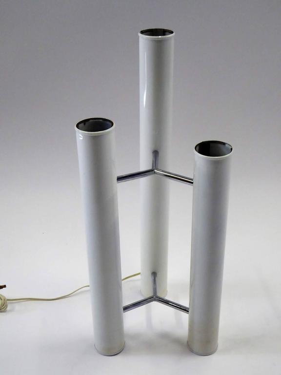 """""""Bellini Collection"""" Table / Floor Three Column Lamp by Mutual Sunset, 1970s 3"""