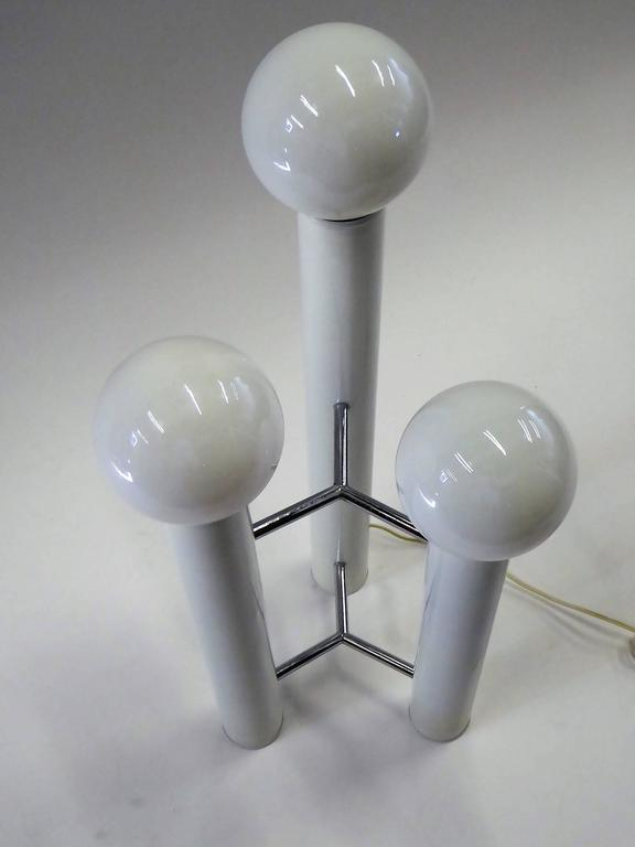 """""""Bellini Collection"""" Table / Floor Three Column Lamp by Mutual Sunset, 1970s 9"""