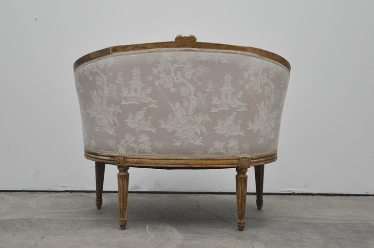 Antique french settee or canape for sale at 1stdibs for Canape for sale