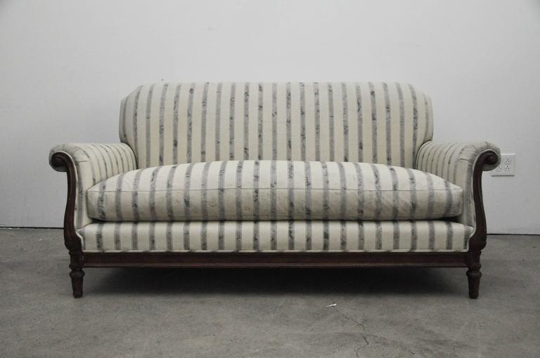 English Tight Back Sofa For Sale 1