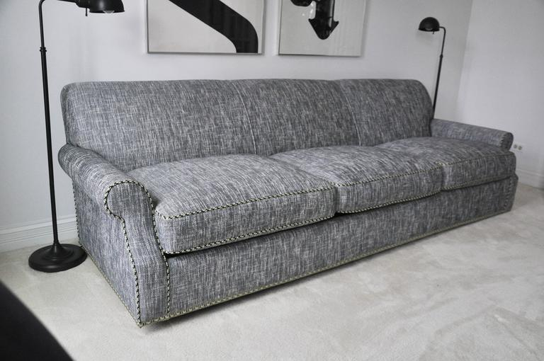 New Custom-Made Queen-Size Hide-a-Bed Sofa For Sale At 1stdibs