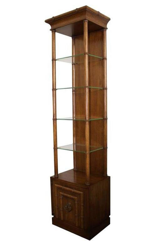 Faux Bamboo Etagere By Drexel Heritage For Sale At 1stdibs