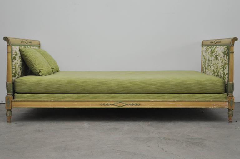 Late 19th Century French Directoire Style Daybed For Sale