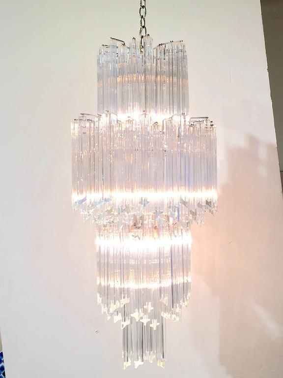 Art Deco Revival Italian Crystal Chandelier by Camer For Sale at – Italian Crystal Chandelier