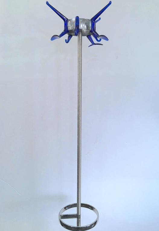 20th Century Italian Coat Rack with Integral Umbrella Stand by Alberto Meda For Sale