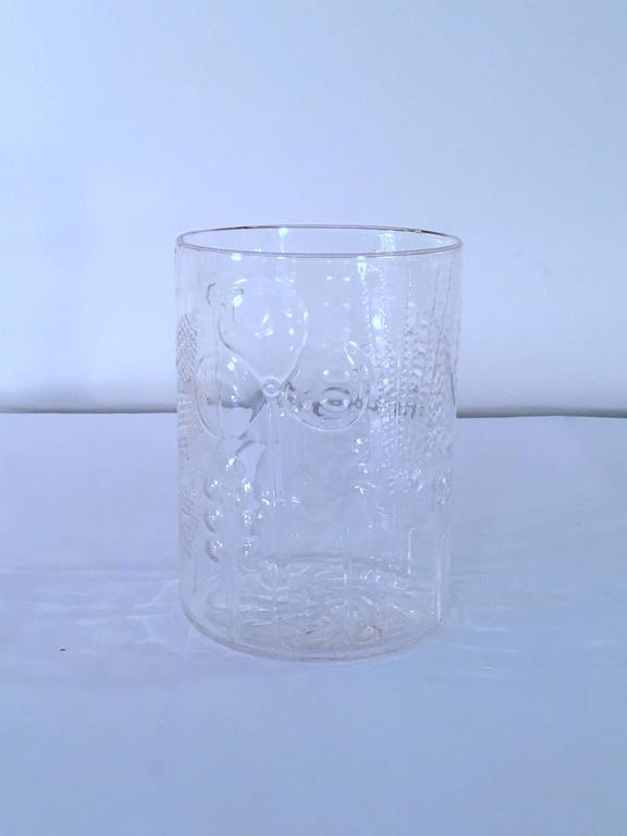 art glass vase by oiva toikka for iittala finland for sale. Black Bedroom Furniture Sets. Home Design Ideas