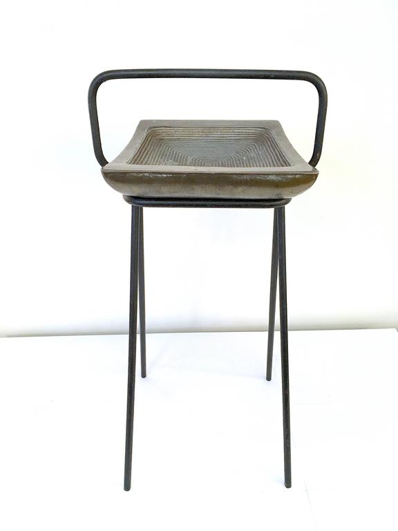 American Smoking Stand and Ashtray by Ben Siebel For Sale