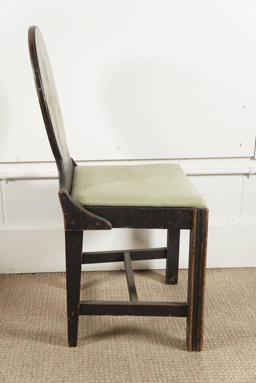 Pair of Painted Side Chairs 4