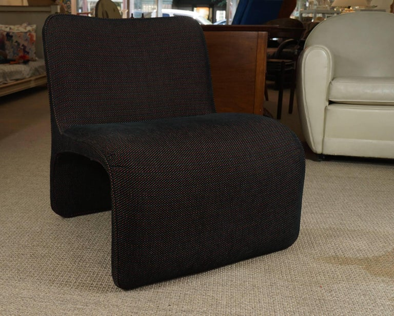 Side Chair with a Modern Profile  2