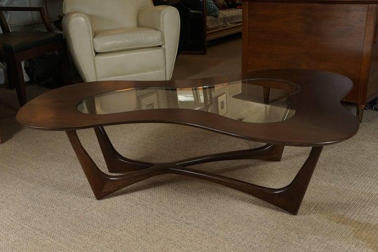 Adrian Pearsall Coffee Table in Custom Walnut 2