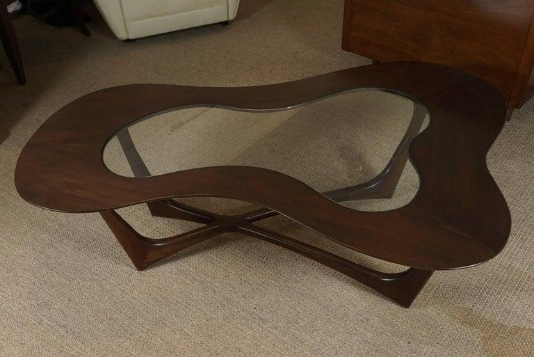 Adrian Pearsall Coffee Table in Custom Walnut 3