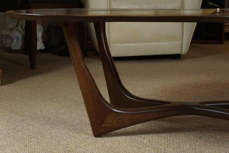 Adrian Pearsall Coffee Table in Custom Walnut 4