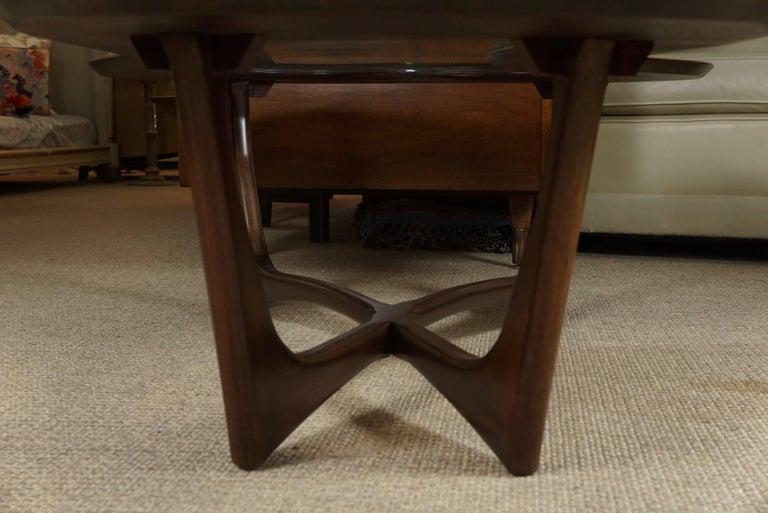 Adrian Pearsall Coffee Table in Custom Walnut 7