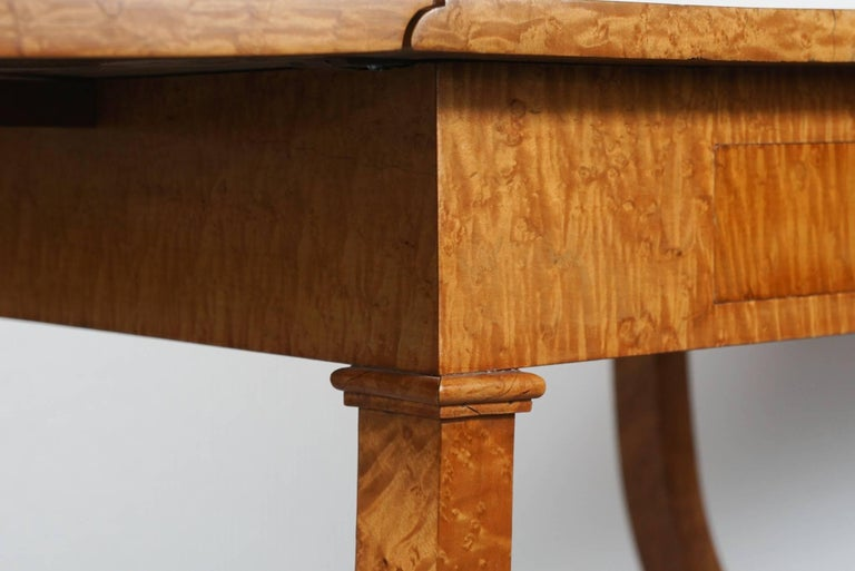 Biedermeier Drop Leaf Table 7