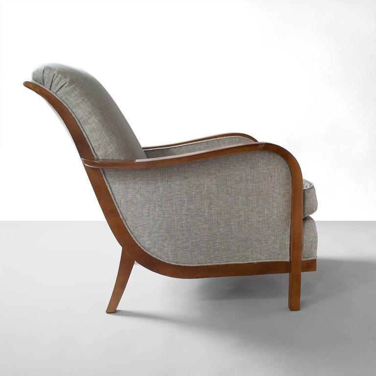 Swedish Art Deco Lounge Chair By Wilhelm Knoll Malmo 1933