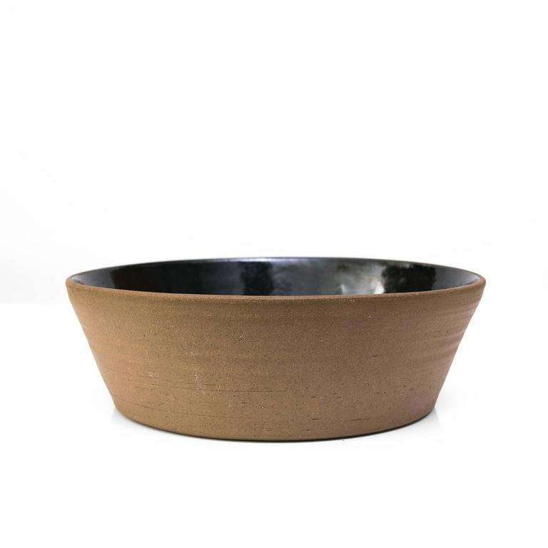 Scandinavian Modern Ceramic Bowl by Signe Persson-Melin In Excellent Condition For Sale In New York, NY