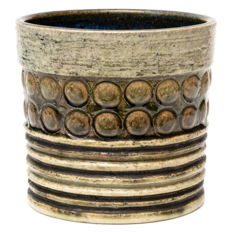 Scandinavian Modern Circle Vase by Britt-Louise Sundell