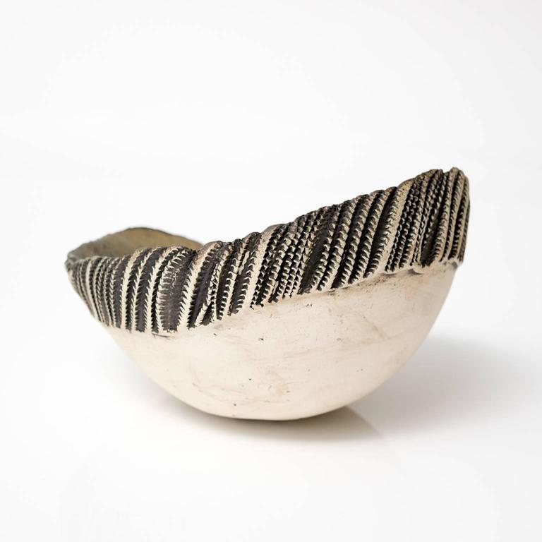 Glazed Scandinavian Modern Bowl by Bengt Berglund For Sale