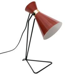 Scandinavian Modern Desk Lamp Svend Aage Holm Sorenensen, ASEA, Sweden
