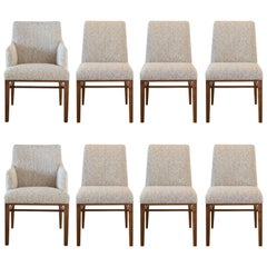 Eight Edward Wormley by Dunbar Dining Chairs