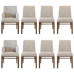 Eight Edward Wormley by Dunbar Dining Chairs