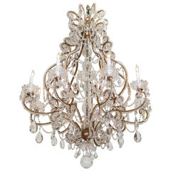 Belle Epoque French Crystal Chandelier