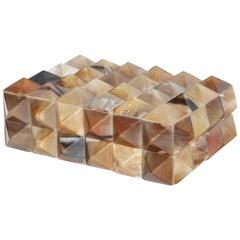 Pyramidal Horn Embellished Box