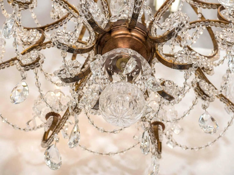 Belle Epoque French Crystal Chandelier For Sale 1