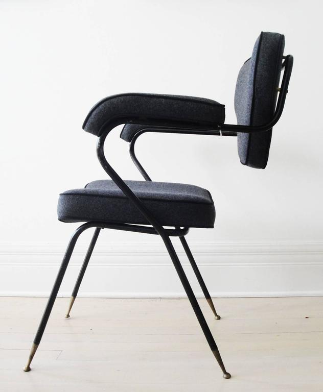 Mid-Century Modern Italian Side Chair For Sale