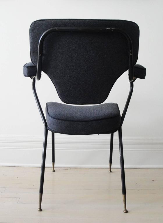 Italian Side Chair In Excellent Condition For Sale In Hudson, NY