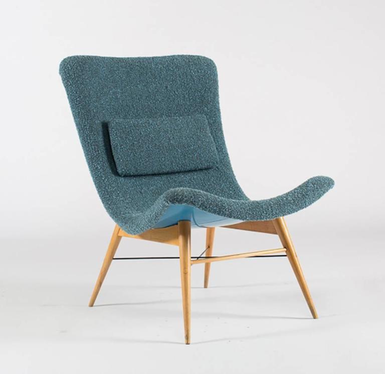 Lounge Chairs by Miroslav Navratil 3