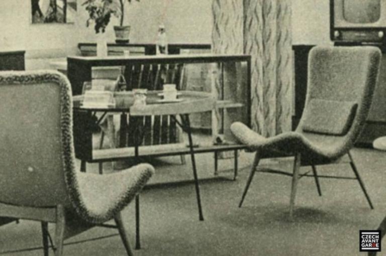 Lounge Chairs by Miroslav Navratil 8