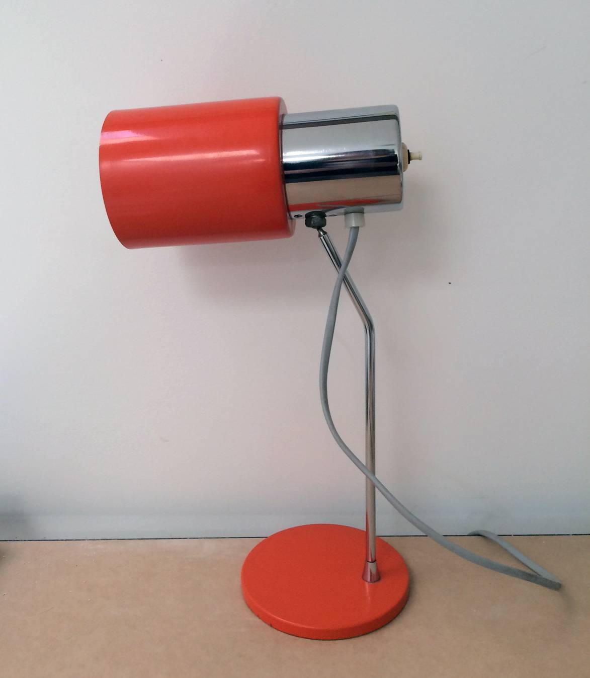 Orange Table Lamp For Sale At 1stdibs