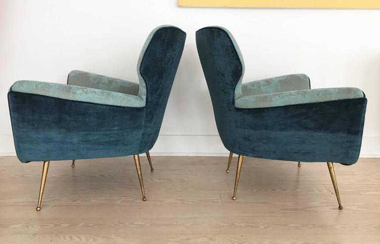 Pair of Italian Armchairs from 1950s 4