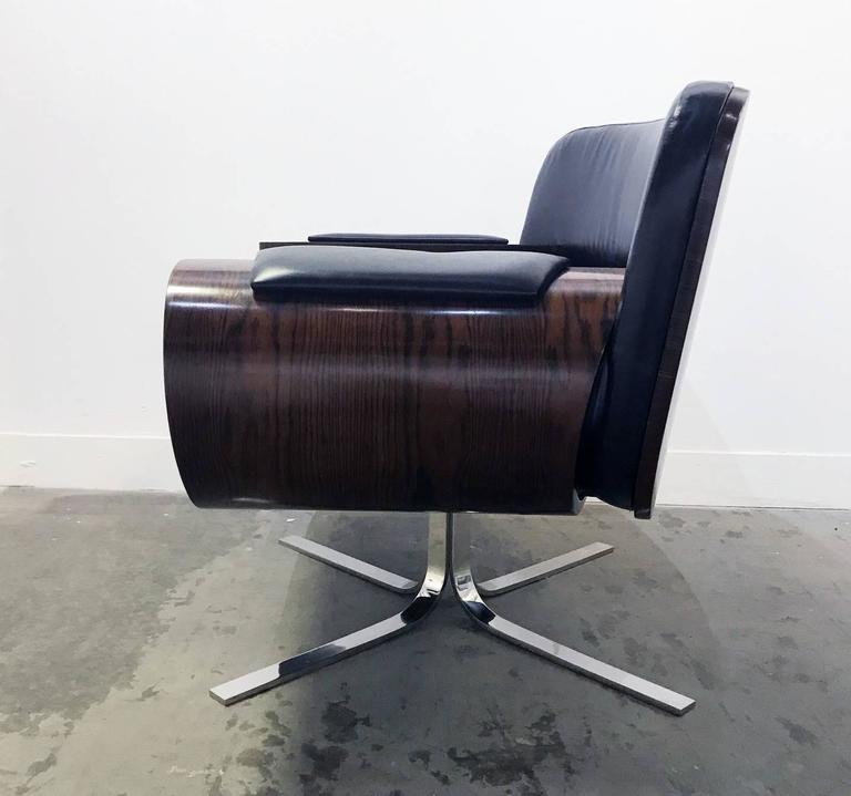 Brazilian Rosewood Lounge Chair by Jorge Zalszupin 3