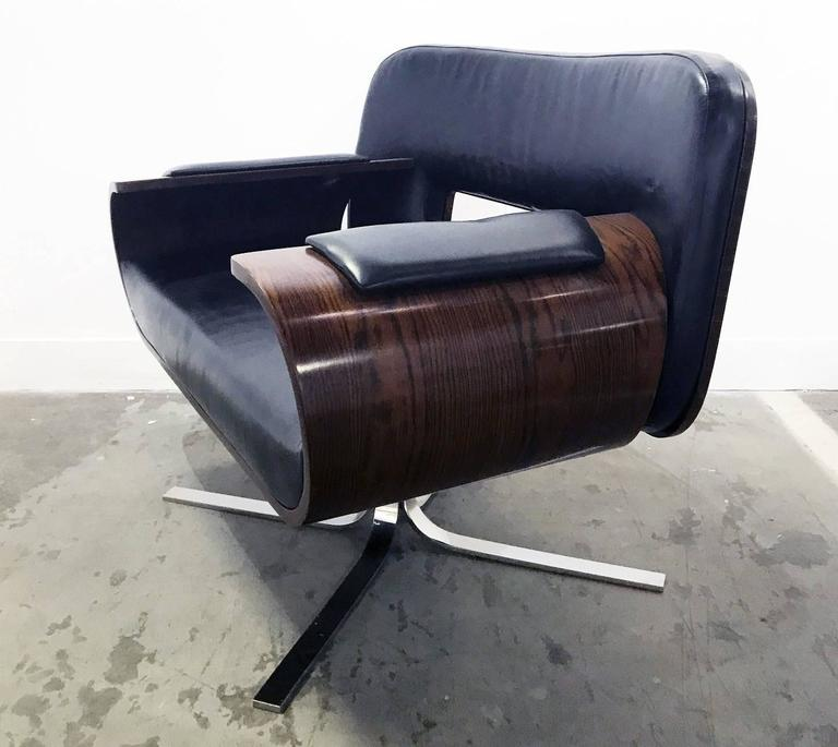 Brazilian Rosewood Lounge Chair by Jorge Zalszupin 4