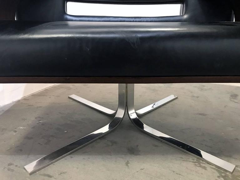 Brazilian Rosewood Lounge Chair by Jorge Zalszupin 8