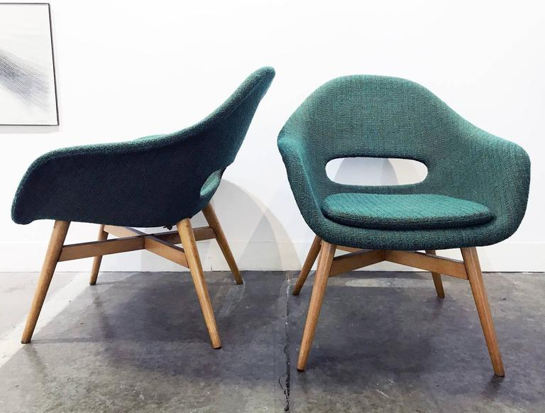 Pair of Easy Chairs by Navratil 2