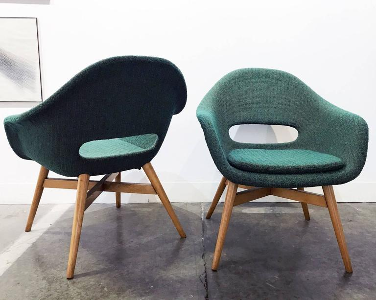 Pair of Easy Chairs by Navratil 3