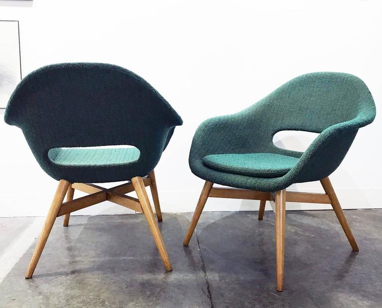 Pair of Easy Chairs by Navratil 4