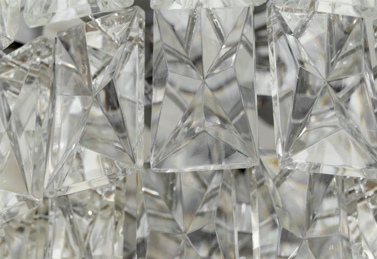 Massive Five-Tier Italian Crystal Chandelier 9