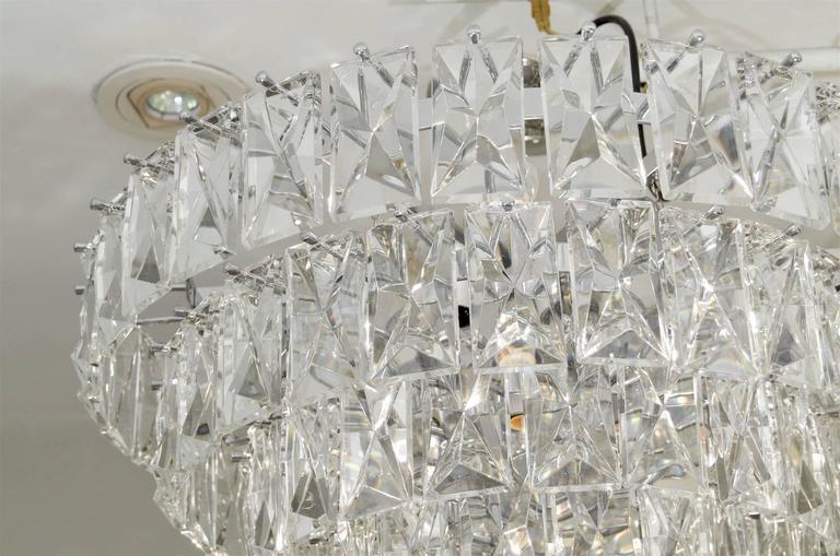 Massive Five Tier Italian Crystal Chandelier At 1stdibs