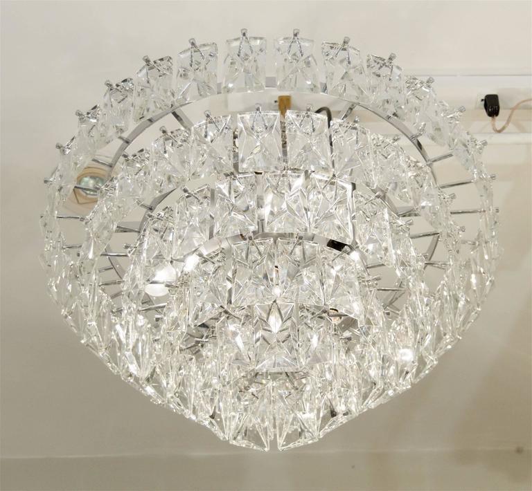 Massive Five-Tier Italian Crystal Chandelier 4