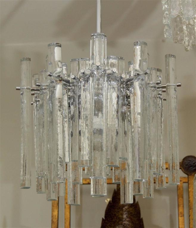 Kinkeldey Ice Stick Crystal Chandelier For Sale At 1stdibs