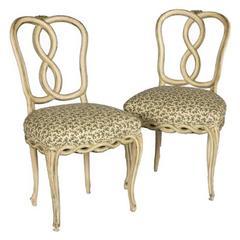 Pair of Venetian Style Chairs