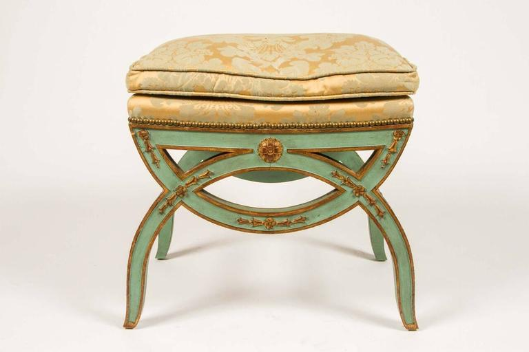 French, 19th Century Painted Bench For Sale 6