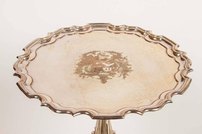 Sterling Silver Guerdon Table from the Dorothy Chandler Estate For Sale 4