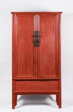 Painted Chinese Cabinet